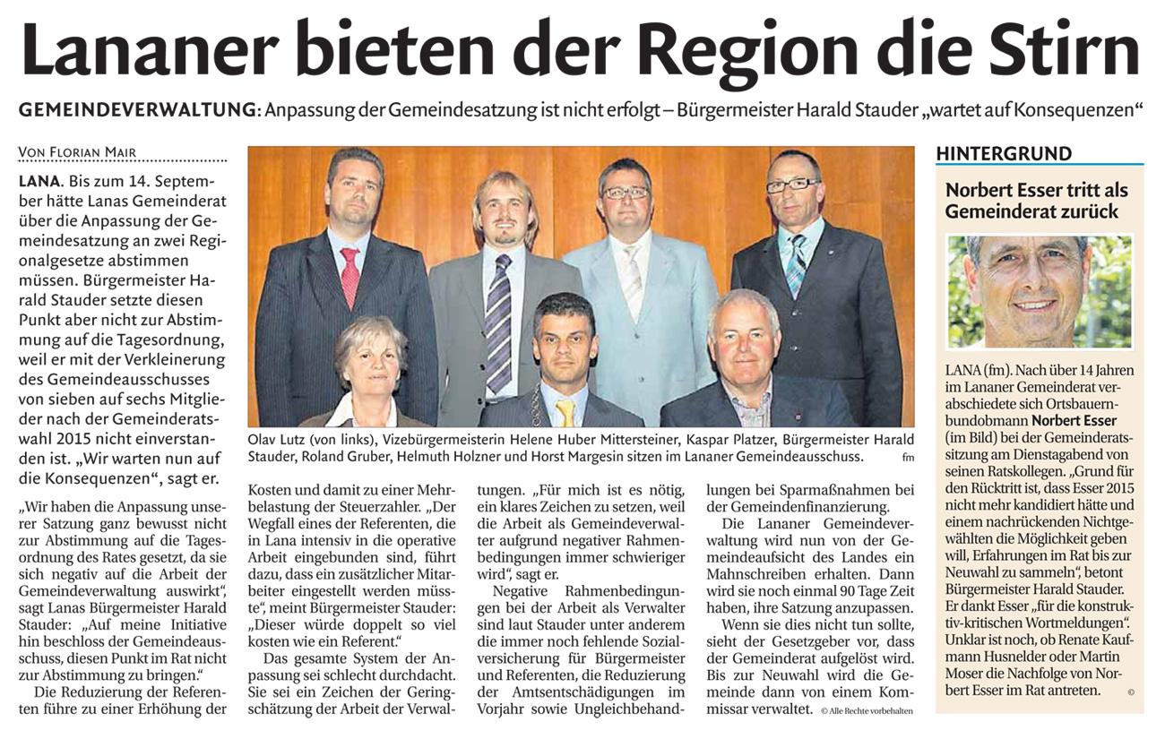 Dolomiten-2014-10-03-Referent-gesucht